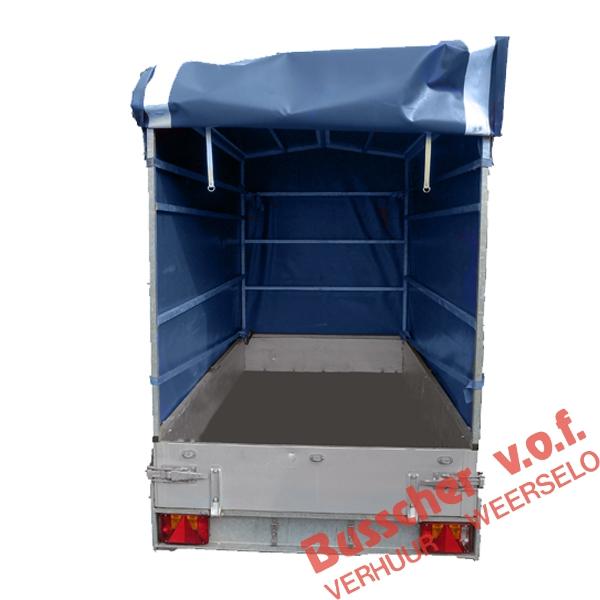 AW002 AW003 ongeremde aanhangwagens 750 kg met huif
