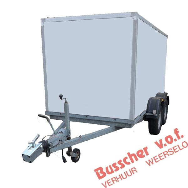AW004 Geremde aanhangwagen 2000 kg met huif