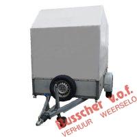 AW005 Tandemaanhangwagen met huif