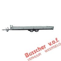 AW008 Tandem aanhangwagen 6 meter - 1 zijklep