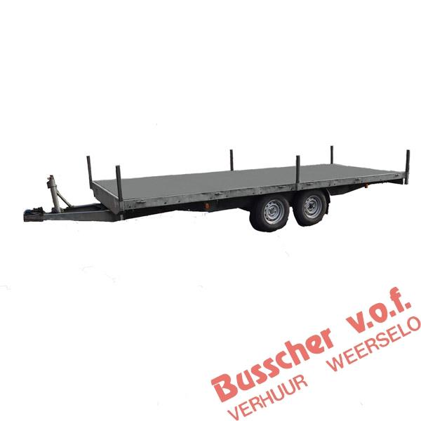AW011 Plateauwagen 5 meter